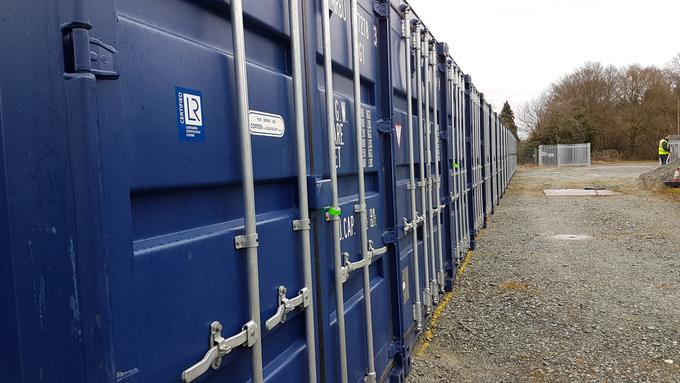 New Sttorage Containers Delivered